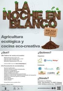 Programa evento organizado por Cooking Málaga y Eco-unión