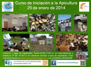 Curso de apicultura Enero